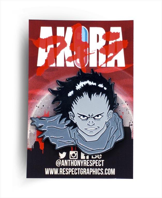 Akira Tetsuo Manga Edition 80s Anime Soft Enamel Pin by Respect